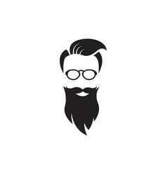 Moustache icon design vector