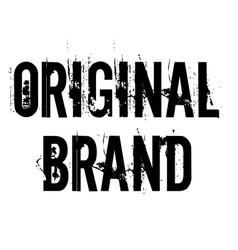 Original brand stamp vector
