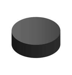 Puck isometric 3d icon vector image