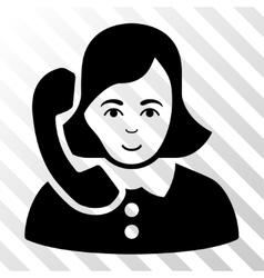 Receptionist Icon vector