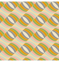 Seamless pattern in abstract style vector image