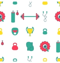 Sport Equipment Background Seamless vector
