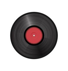 retro vinyl record - vector image vector image