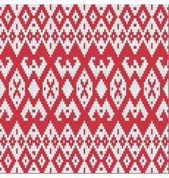 Ethnic textile ornamental seamless pattern vector image vector image