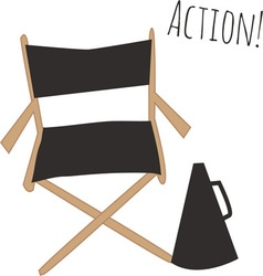 Action vector image