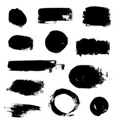 Ink Splash Backgrounds vector image