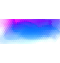 Abstract colorful triangle shades repeated vector