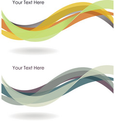 Abstract winding background vector image