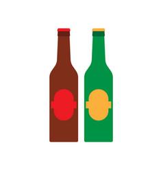 beer glass mug beverage bar pub drink alcohol vector image