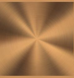 Bronze metal background vector