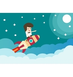 Business career concept vector image