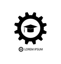 Engineering education logo vector