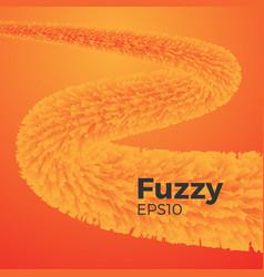 Fuzzy background vector