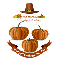 Happy thanksgiving day design vector