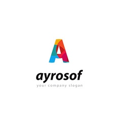 Letter A logo Template for your company vector
