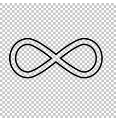 Limitless line icon vector image