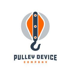 Logo design building-lifting tools vector