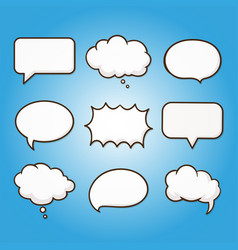 speech bubble dialog talk tag communication vector image
