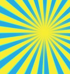 Sun ray vector