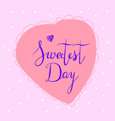 sweet day logo simple style vector image