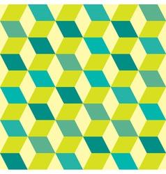 Seventies green seamless vector image vector image