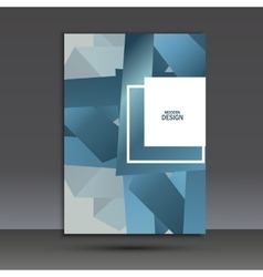 Beautiful origami creative element design vector