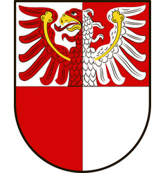 Coat of arms of barnim in brandenburg germany vector