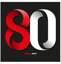 Eighty year vector