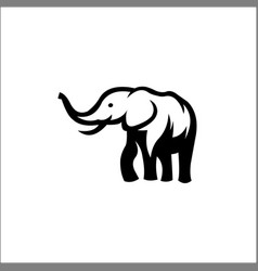 elephant icon concept for design vector image