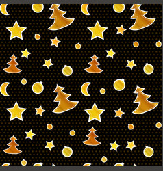 New year and christmas greeting background on vector