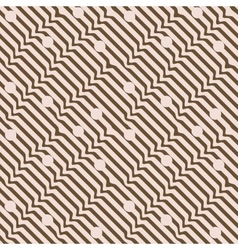Wavy line seamless pattern 2 vector image