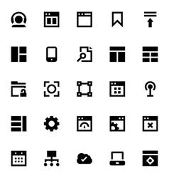 Web Design and Development-3 vector image