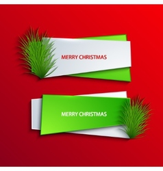 modern christmas background vector image vector image
