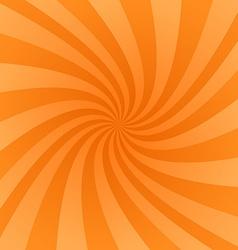 Orange swirl design background vector