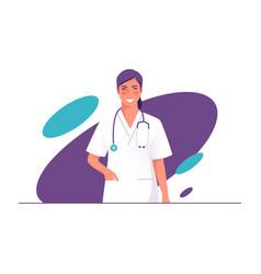 A physician doctor vector