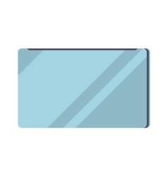 Closed laptop computer notebook icon vector image