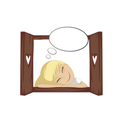Cute daydream vector