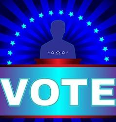 Election Vote Banner vector