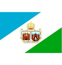 Flag of brandenburg an der havel in brandenburg vector