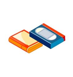 icon tape vector image