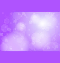 Purple violet bokeh abstract background vector