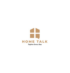 Window or home or real estate consulting logo vector