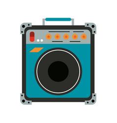 Guitar amplifier icon image vector