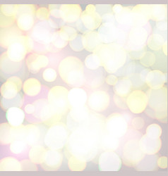 abstract background with defocused bokeh circles vector image
