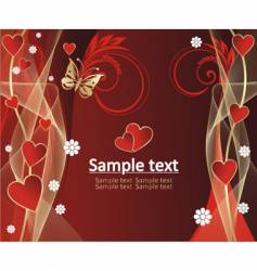 beautiful pattern with gold background vector image
