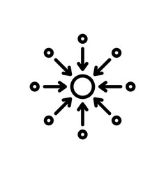 Centralized vector