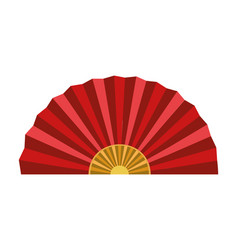 Chinese traditional fan vector