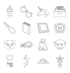education sport medicine and other web icon in vector image