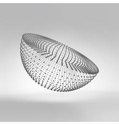 Half-sphere molecular lattice vector
