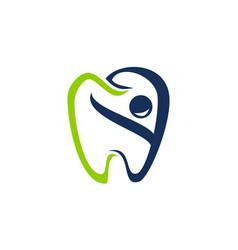 happy dental care vector image
